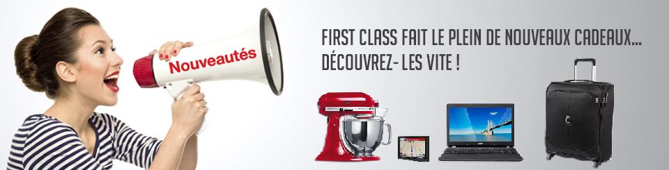First class - Nouveautes 2016