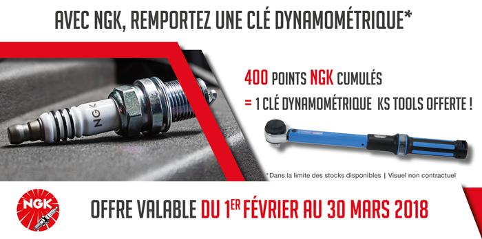NGK cle dynamometrique KS Tools