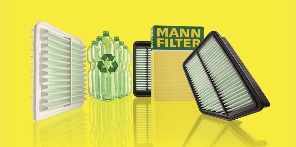Filtres MANN éco-conçus