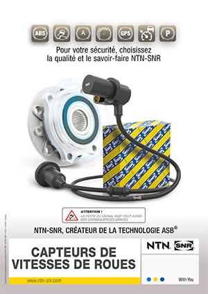 NTN SNR capteurs vitesse