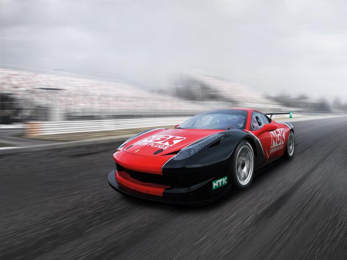 Ferrari 458 Challenge RaciNGK Team 2015